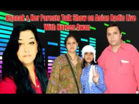 Khanak's Interview on Asian Radio live by Noreen Awan