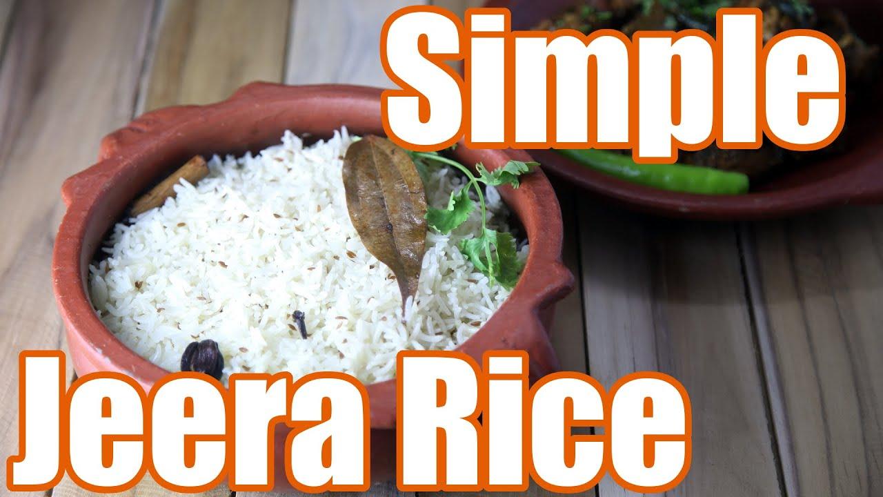 Perfect Jeera (Cumin) Rice Recipe | Simple Indian Recipes #4