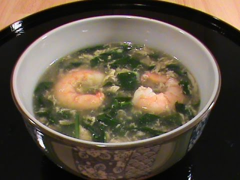 Shrimp spinach soup quick easy chinese cuisine by chinese home shrimp spinach soup quick easy chinese cuisine by chinese home cooking weeknight forumfinder Gallery