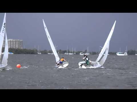 8/24/12 - Fleet; Sailing Windward-Leeward Course 2