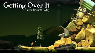 Getting Over It (by Bennett Foddy) IOS Gameplay Video (HD)
