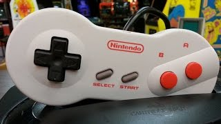 Classic Game Room - NES DOGBONE CONTROLLER review