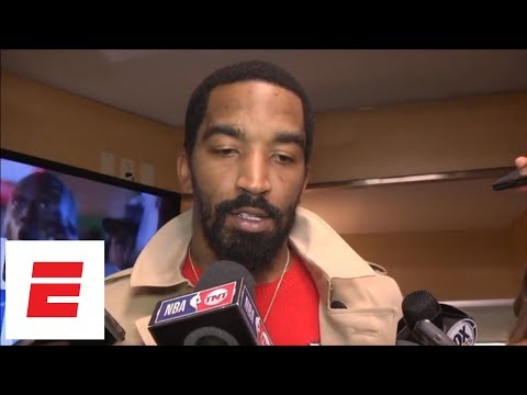 Kevin Love, Kyle Korver, JR Smith react to LeBron James' buzzer-beating game-winner vs Pacers | ESPN
