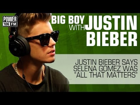"""Justin Bieber: Selena Gomez was """"All That Matters"""""""