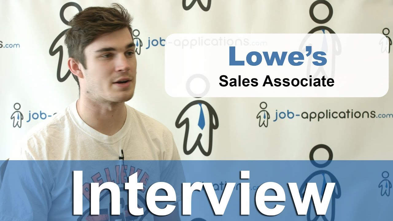 Lowe S Interview Questions How To Get A Job Tips