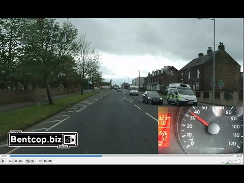 Device Accuracy challenge test YJ62 FRK West Yorkshire Police Bradford Sunday 07 May 2017 15:26pm