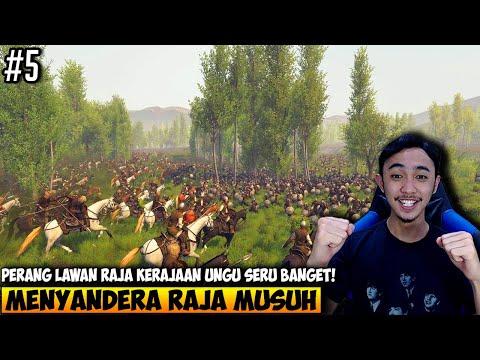 MENGALAHKAN RAJA KERAJAAN UNGU DIA JADI BUDAK GUA - MOUNT AND BLADE 2 INDONESIA - PART 5 - 동영상