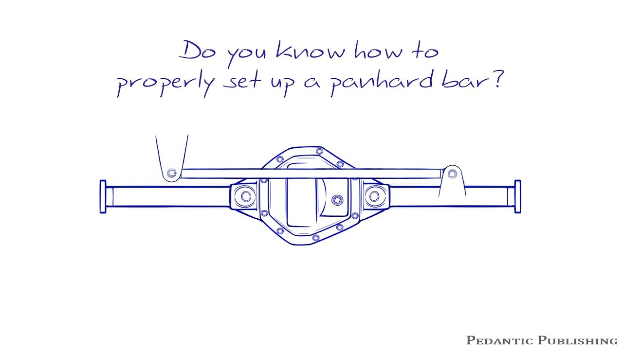 hight resolution of how to set up a panhard bar