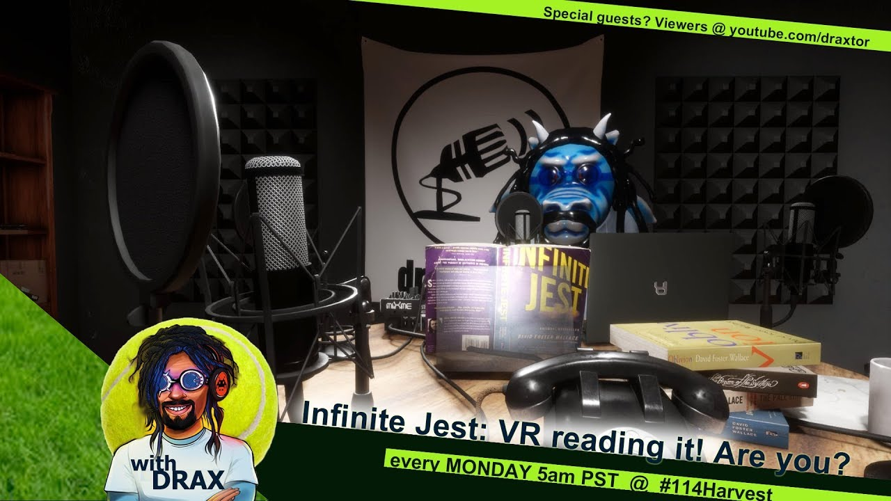 Live From Beta 114 Harvest Infinite Jest Vr Reading It Are You
