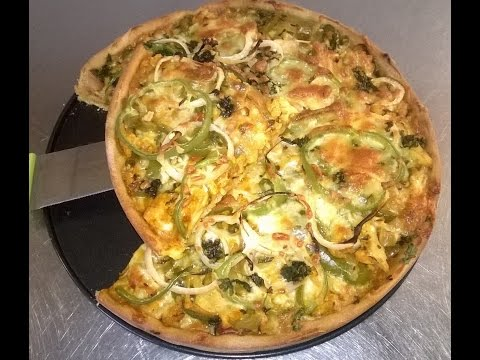 Wheat flour base (without Yeast) Cheese Pizza