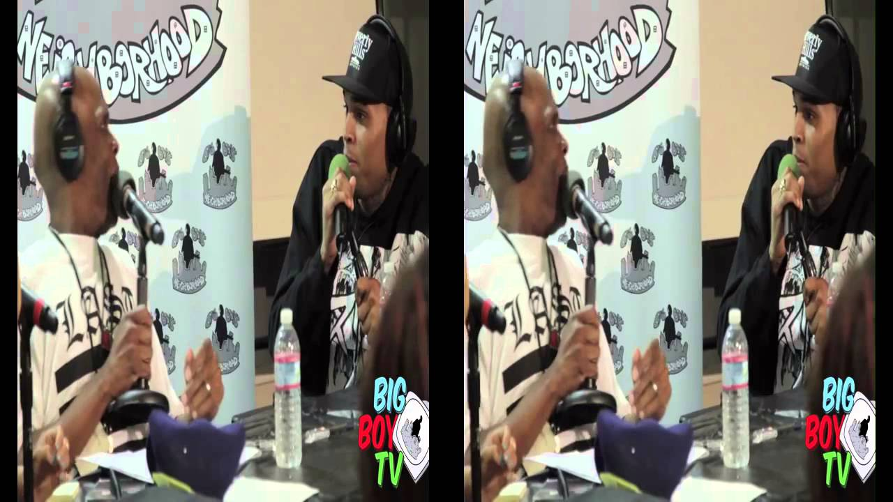 Download Chris Brown and Big Boy Bust a Freestyle All Up in There  BigBoyTV