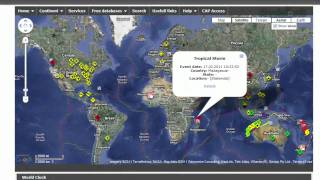 Real-Time Map of Emergency Events Worldwide - Tekzilla Daily Tip