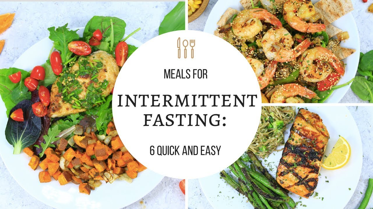 Intermittent Fasting Meals Youtube