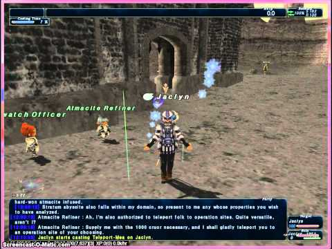 FFXI Detailed Roadmap To and Through Sky Part 1