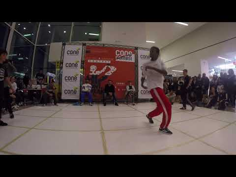 Spinkids Vs Scatto & Kid Lion [4] Breaking Over 14 | Cone' Contest 2019