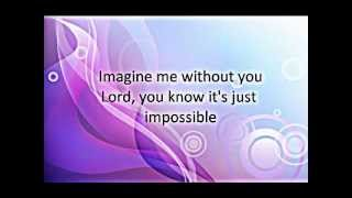 Imagine Me Without You lyrics by AKAMA MIKI