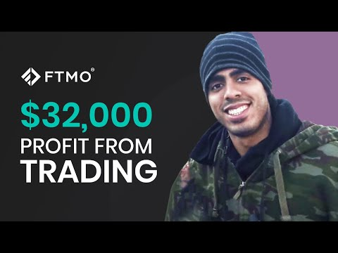 FTMO Trader shares the strategy that made him $32,000 in one trading month!   FTMO