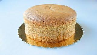 Идеальный Классический Бисквит (ПРОСТОЙ РЕЦЕПТ) / Pandispanya Tarifi / Sponge Cake Recipe