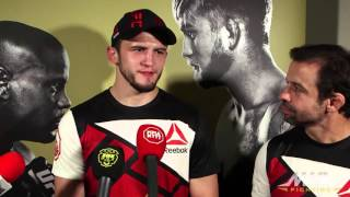 UFC 192: Albert Tumenov Says He Was
