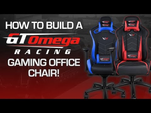 How to: Build a GT Omega Racing Gaming Office Chair! - YouTube