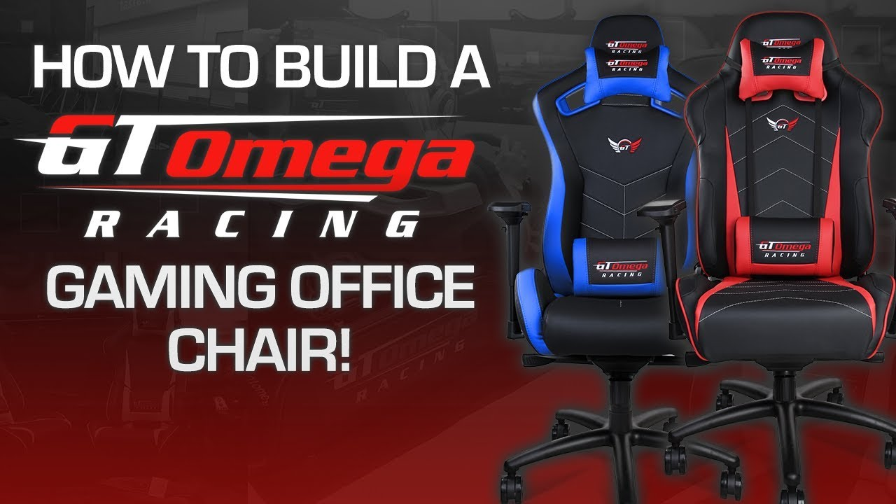 Gaming Sessel Ebay How To Build A Gt Omega Racing Gaming Office Chair