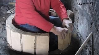 ТОНИР(Тундыр,Тандыр) из Кирпича Своими Руками.((Тонир,Тундыр,Тандыр ) своими руками, Армянский тонир сделано из кирпича., 2016-04-17T20:22:03.000Z)