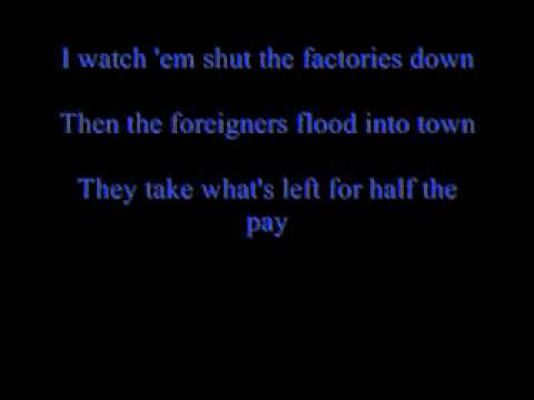 Justin Moore - Good Ole American Way (Lyrics)