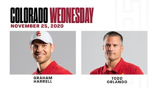 2020 Colorado Wednesday: Graham Harrell, Todd Orlando