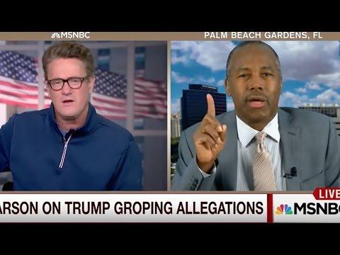Ben Carson: Trump Sexual Assaults Don't Matter