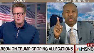 Ben Carson: Trump Sexual Assaults Don