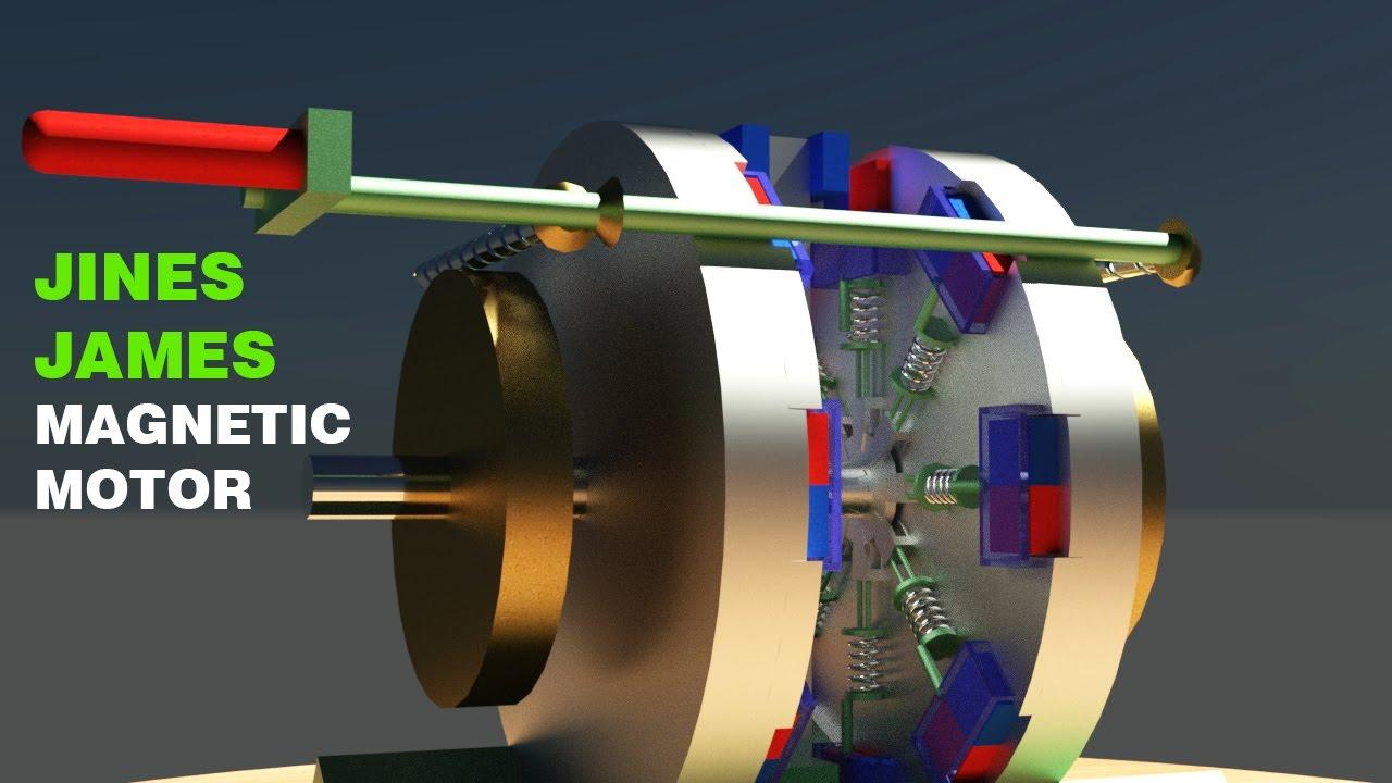 Free energy generator jines james magnet motor magnetic for How to make free energy magnet motor