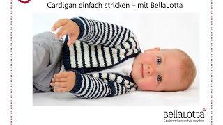 Babyjacke/ Cardigan einfach stricken - Stricken für Anfänger