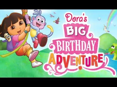 DORA LA EXPLORADORA ~ Dora la Gran Aventura de Cumpleaños ~ Juegos ...