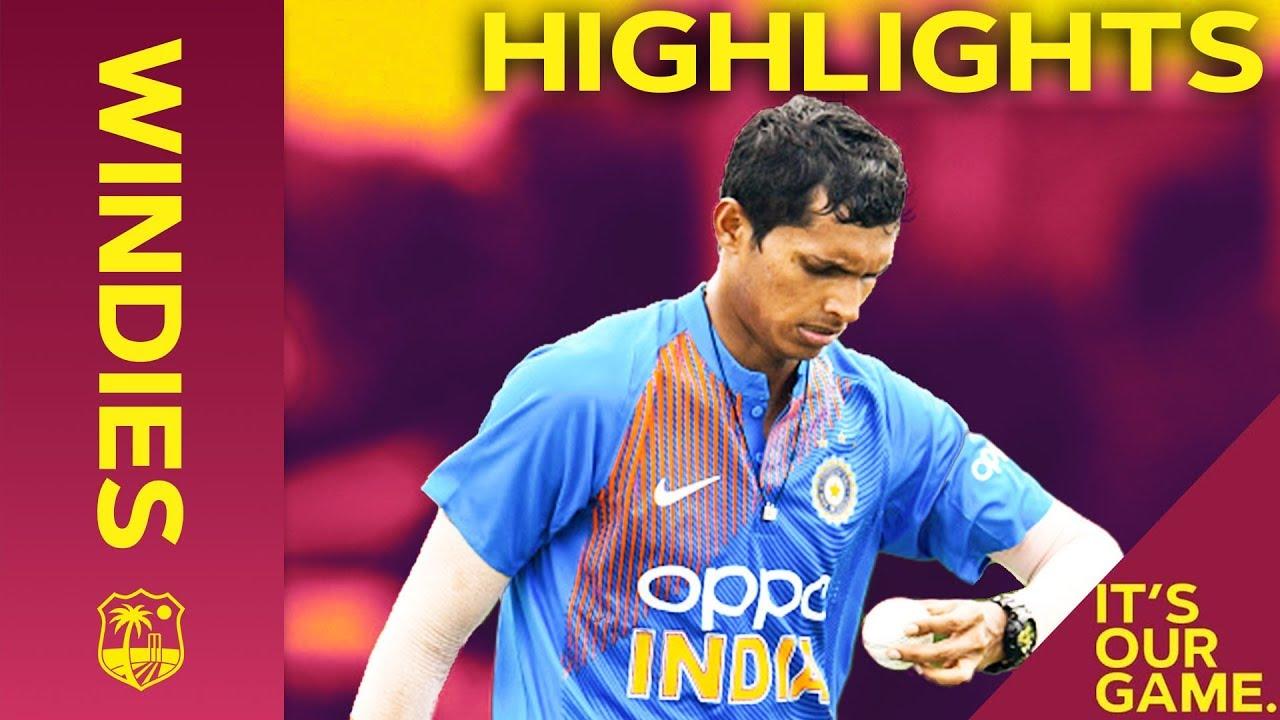 Saini Shines On Debut   Windies vs India - Match Highlights   1st IT20 2019