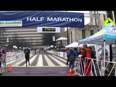 Mercedes half marathon 2015 youtube for Mercedes benz half marathon