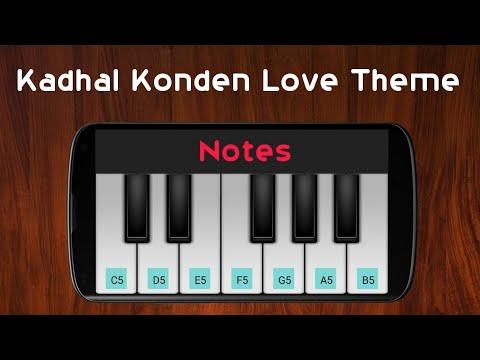Kadhal Konden Love Theme | Yuvan Shankar Raja | Perfect Piano 🎹
