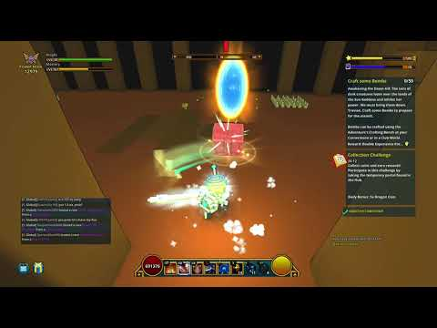 Trove: Awakening the Dawn 3/8 - Defeat 5 Golden Scarabs