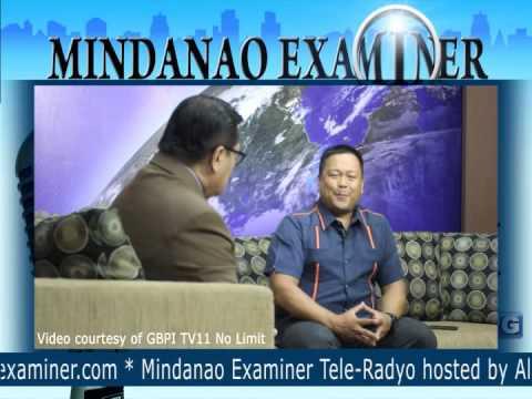 Mindanao Examiner Tele-Radyo Mar. 5, 2013: Guest UNA senatorial bet JV Ejercito Estrada