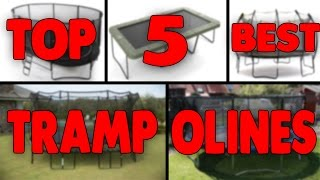 Top 5 Best Garden Trampolines