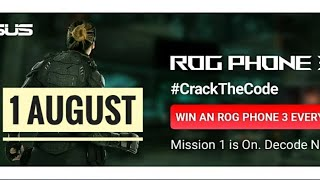 Flipkart Quiz Answers Today  | Win Rogue Phone 3 | #CrackTheCode | 1 August 2020