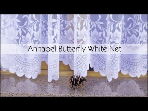 Annabel White Net Curtains - Woodyatt Curtains