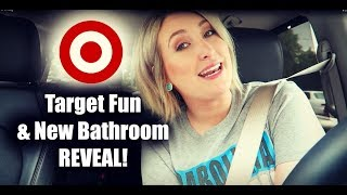 Fun at Target & New Bathroom Renovation Reveal | Summer Whitfield