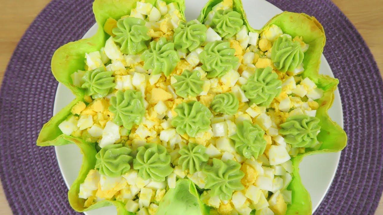 Салат на праздничный стол   рецепты с авокадо