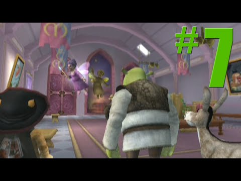 Shrek 2: Game Walkthrough Part 7 - Fairy Godmother's - No Commentary Gameplay (Gamecube/Xbox/PS2)