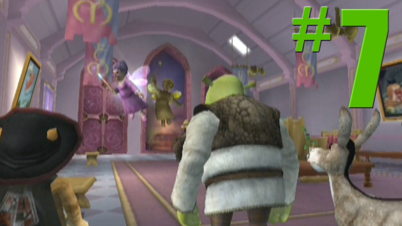Shrek 2 Game Walkthrough Part 7 Fairy Godmother S No Commentary Gameplay Gamecube Xbox Ps2 Youtube