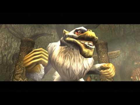 Legend Of Zelda: Twilight Princess HD - Miniboss: Ook The Baboon