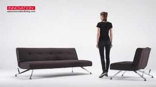 Clubber Leather Convertible Sofa Beds At Zin Home