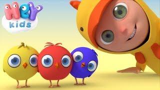 Les Petits Poussins 🐤 Comptines pour bébé | HeyKids