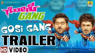 Gosi Gang HD Trailer 2 | New Kannada Movie | Ajay Karthik Yathiraj Jaggesh | Jhankar Music