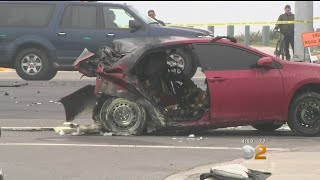 3 Teens Killed, 1 Injured By DUI Driver In Huntington Beach